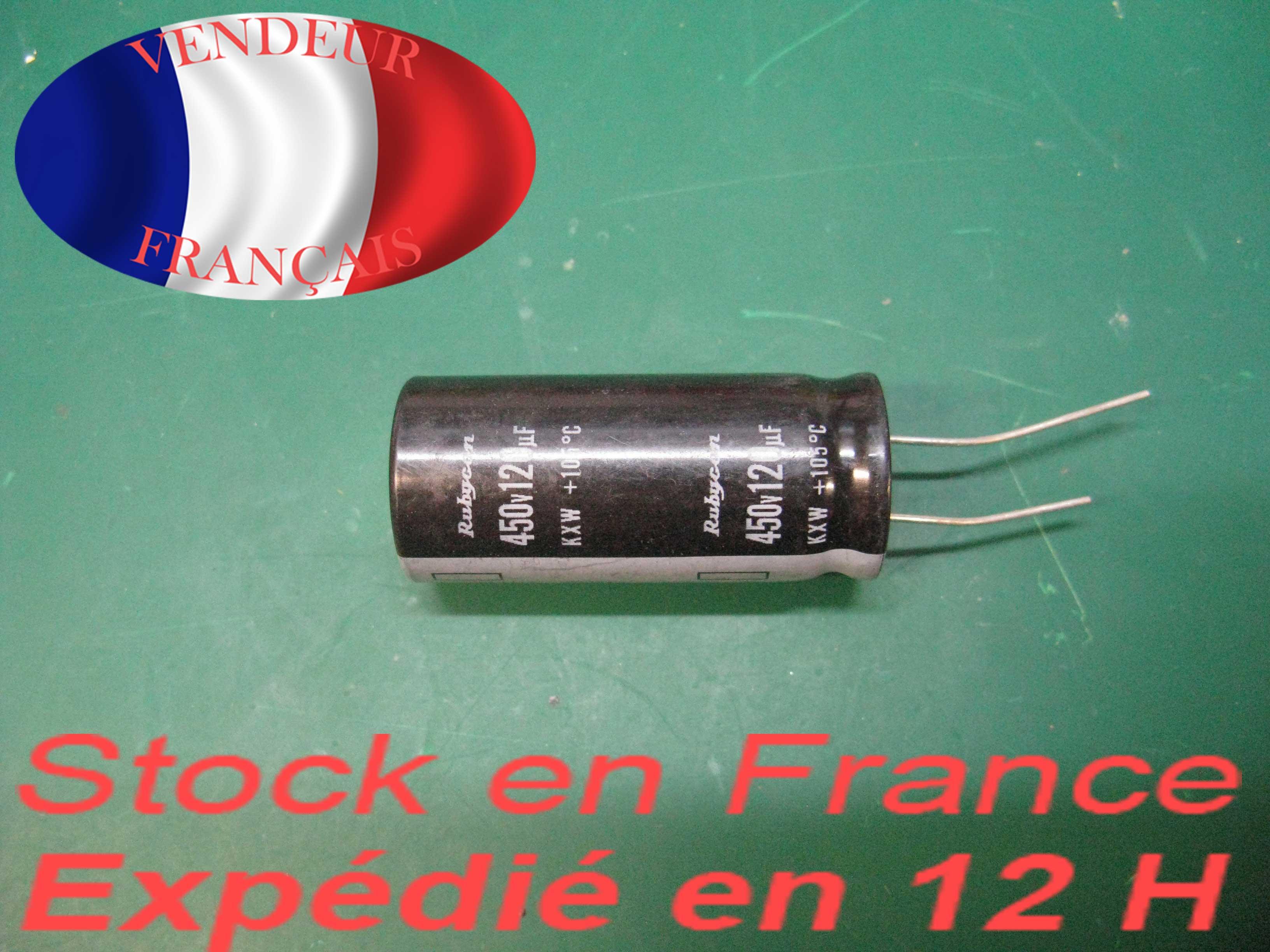 1PC Original 150uf 450v Rubycon Radial Electrolytic Capacitor 22x36mm MXG
